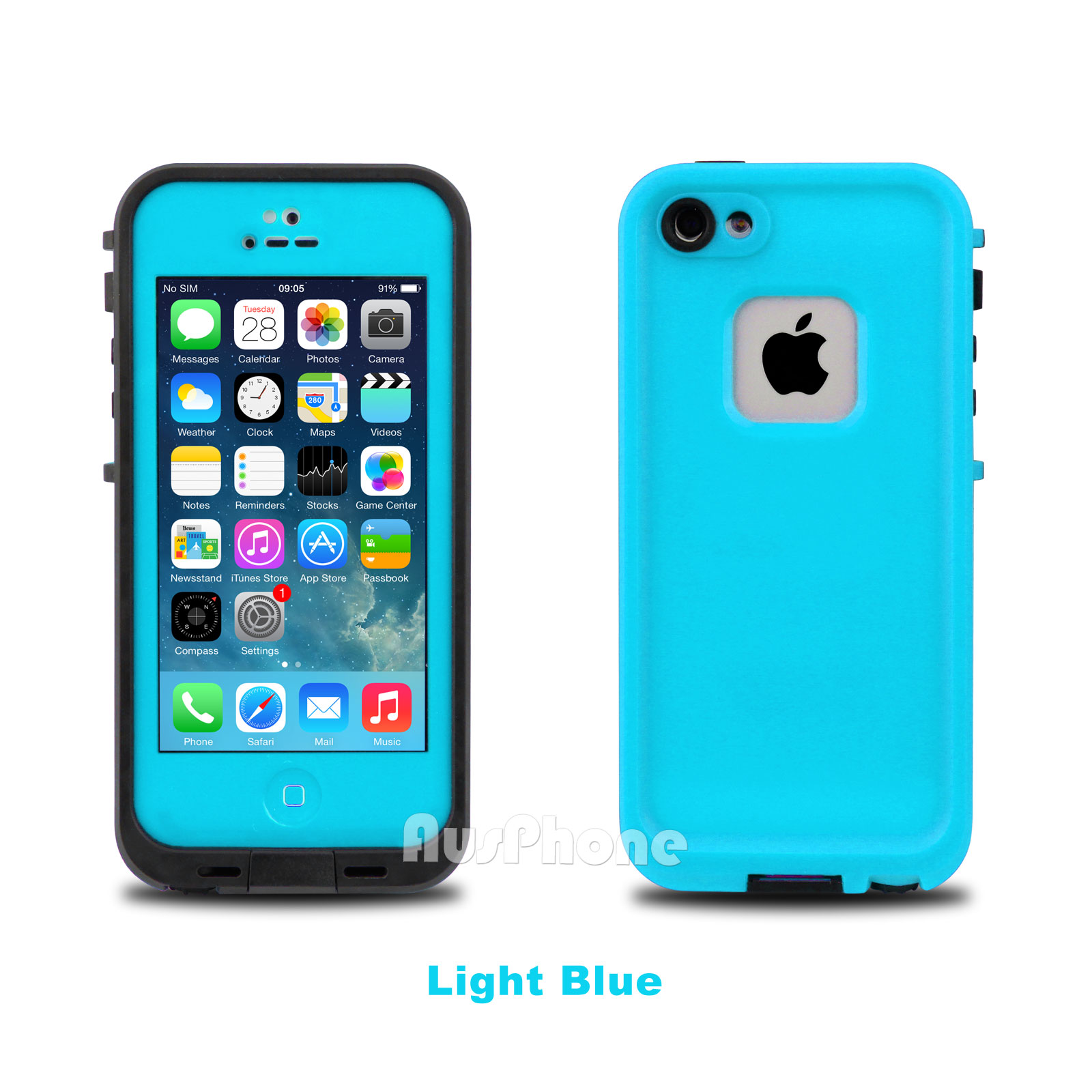 waterproof iphone 5s case waterproof dirtproof heavy duty cover for apple 16462