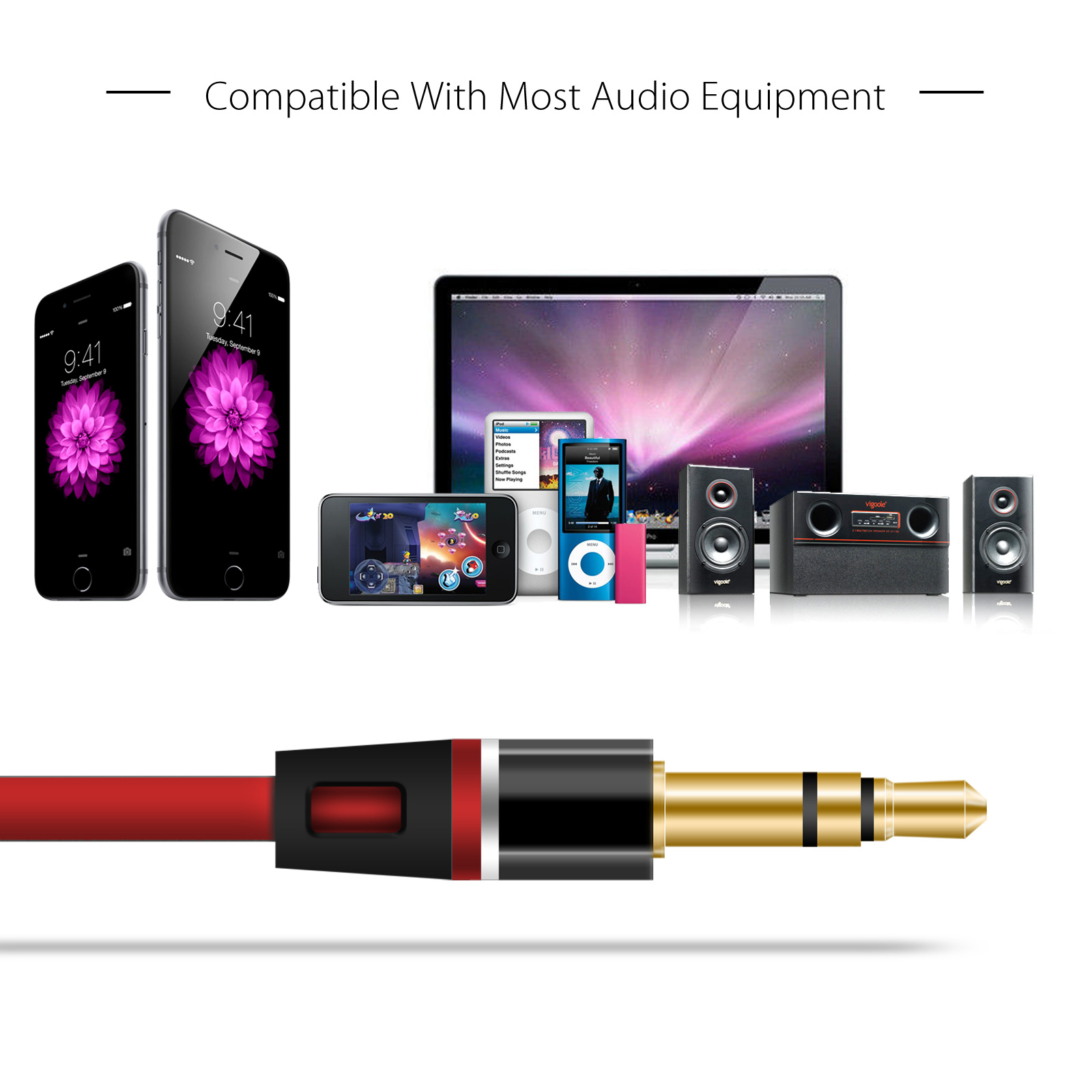 Details about Replacement Audio Headphones Mic Cable 3 5mm Aux Cord Jack  For Beats By Dr Dre