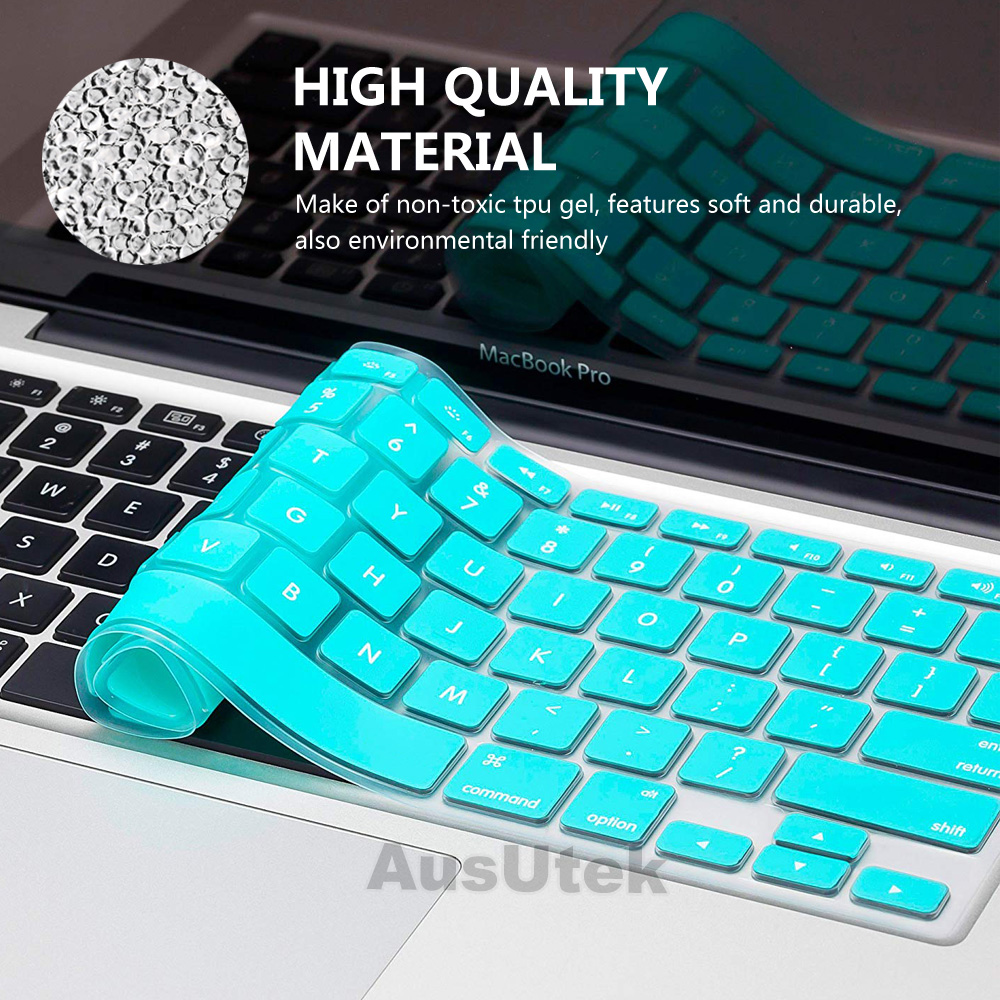cheap for discount eee5c 5d169 Details about 2in1 Tiffany Blue Mac Case Matte Keyboard Cover For Apple  MacBook Air 13