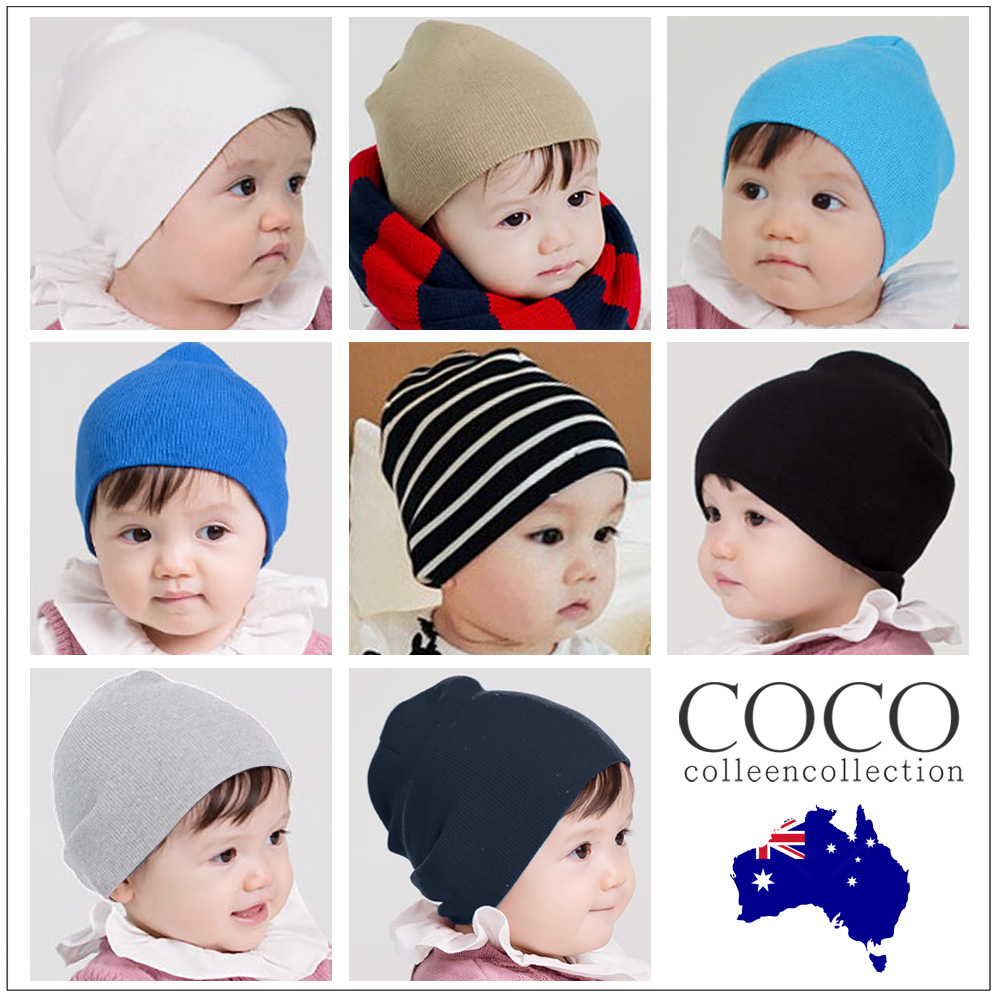 007ccb0f4 Details about Kids Baby Cotton Beanie Soft Girl Boy Knit Hat Toddler Infant  Kid Cap OZ