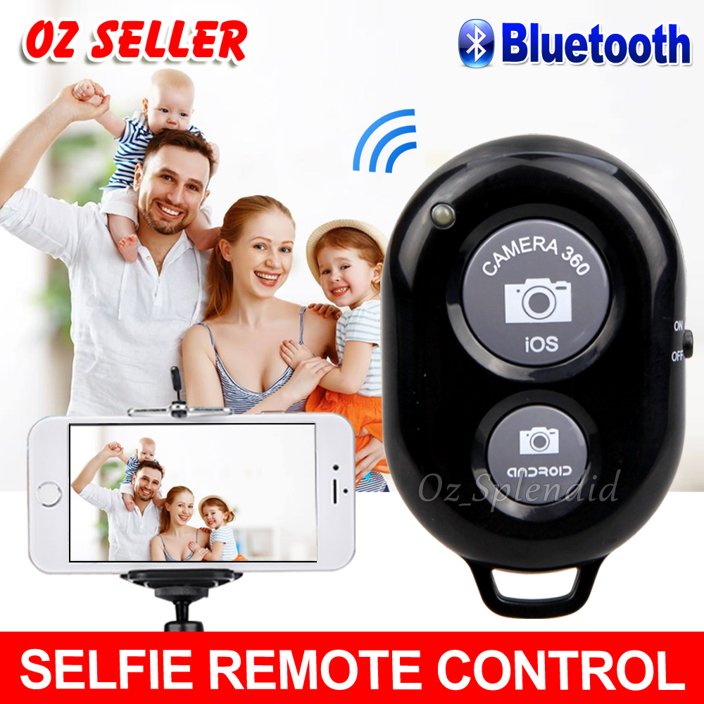 Details about Wireless Bluetooth Remote Control Camera Shutter for iPhone X  iPad Samsung S9
